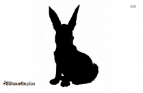 Free Arctic Hare Silhouette
