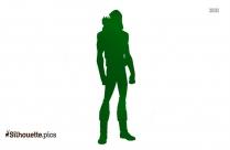 Arrow Man Silhouette Free Vector Art
