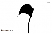 Tulip Divider Silhouette Illustration