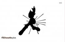 Astro Boy Silhouette