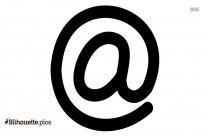 Peace Symbol Outline Silhouette Image