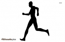 Athletic Person Silhouette For Download