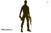 Auction Figure Deadshot Comics Silhouette