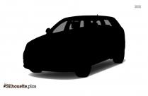 Audi A10 Silhouette Illustration