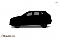 Black Classic Car Silhouette Image