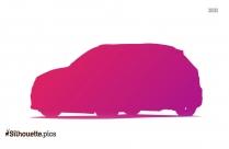 Audi A3 Silhouette Clipart