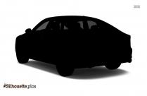 Audi R8 Silhouette Vector