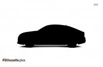 Cartoon Sedan Silhouette