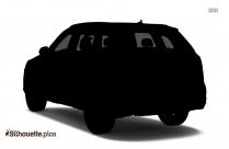 Luxury Car Silhouette Clip Art