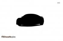 Lamborghini Veneno Silhouette Vector