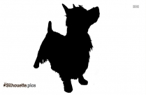 Vector Of Dog Head Image Silhouette