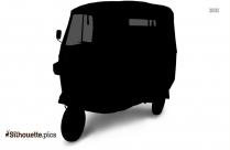 Auto Rickshaw Silhouette Png