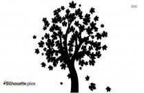 Big Tree Silhouette Image