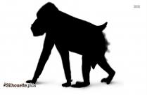 Hippopotamus Vector Silhouette