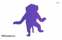 Baboon Animal Background Silhouette