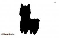 Jerboa Symbol Silhouette