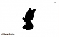 Baby Angel Free Clip Art Silhouette
