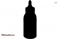 Feeding Bottle Silhouette Drawing