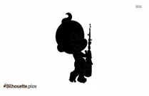 Baby Boy Praying Silhouette