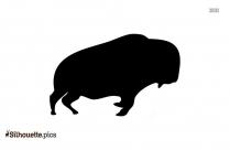 Baby Buffalo Drawing Silhouette