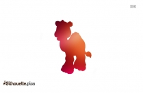 Baby Camel Clipart Silhouette