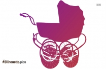 Baby Carriage Clip Art Image