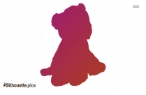 Baby Charlie Cheetah Silhouette, Baby Charlie Cheetah Vector Icon