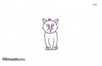 Baby Charlie Cheetah Clip Art Icon