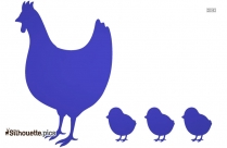 Cute Chick Drawings Silhouette Vector And Graphics