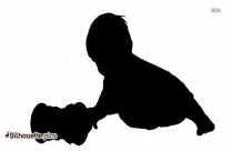 Baby Child Playing Silhouette