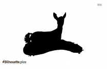 Animals Baby Deer Silhouette
