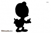 Mickey Mouse Ear Hat Silhouette Image Vector
