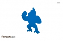 Bear Standing Clipart Silhouette