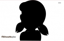 Baby Doraemon Girl Silhouette Icon
