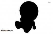 Peter Pan Flying Silhouette