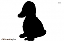 Baby Duck Drawing Silhouette Art