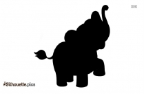 Baby Elephant Png Silhouette