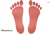 Baby Footprints Silhouette Clipart