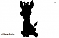 Cute Baby Tiger Clipart Silhouette
