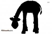 Baby Giraffe Zoo Animal Silhouette