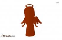 Baby Girl Angel Silhouette