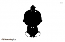 Little Baby Girl Silhouette Download