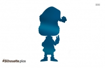 Baby Grinch Silhouette