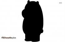 Carousel Bear Silhouette