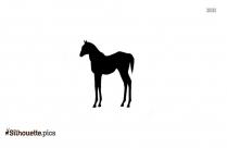 Teacup Horses Clipart Silhouette