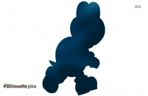 Turtle From Mario Silhouette Clip Art