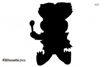 Baby Koopa Silhouette Image