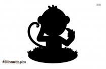 Kung Fu Panda Monkey Silhouette Picture