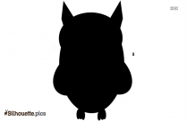 Cartoon Owl Silhouette Free Vector Picture