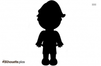 Boy Gymnastics Cartoon Silhouette Vector And Graphics